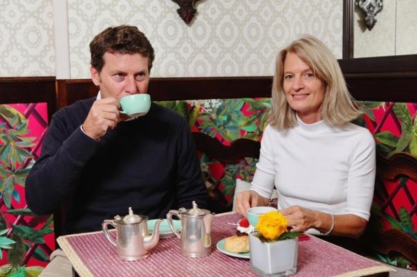 Rory Bruce e Chiara Bedini - proprietari Babingtons