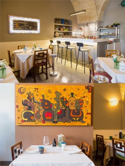 Both photos from Osteria di Chichibio