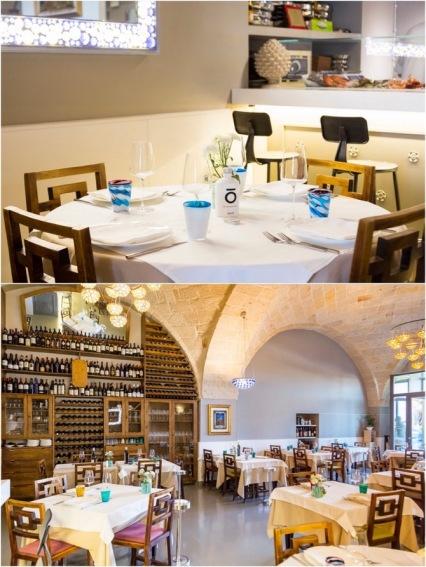 Both photos from Osteria di Chichibio