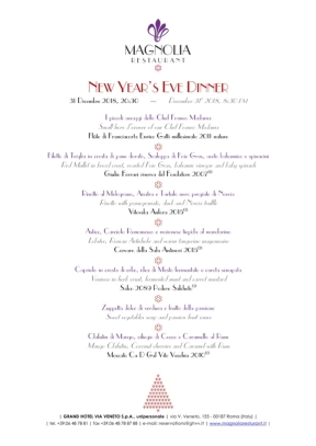 MAGNOLIA New Year's Eve Dinner 2018-1