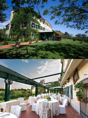 Both pictures from Ristorante Verdegaio website