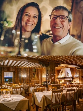 Both photos from Ristorante Acero Rosso website