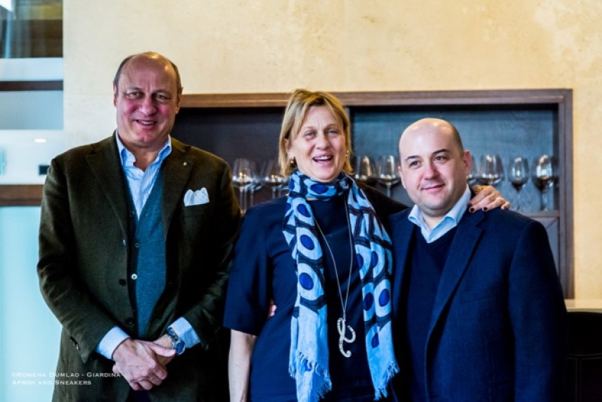 Sergio Zingarelli, Sandra Zingarelli and Alessandro Pipero