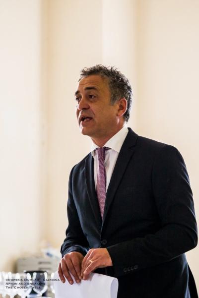 Stefano Di Marzo, President of the Consorzio di Tutela dei Vini d'Irpinia