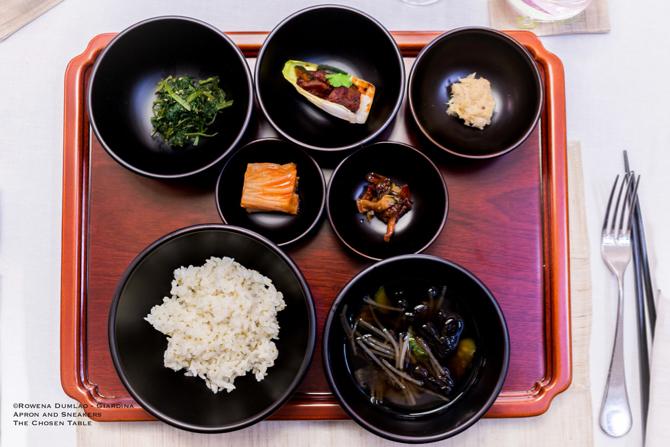 Jeong Kwan Buddhist Dinner 13