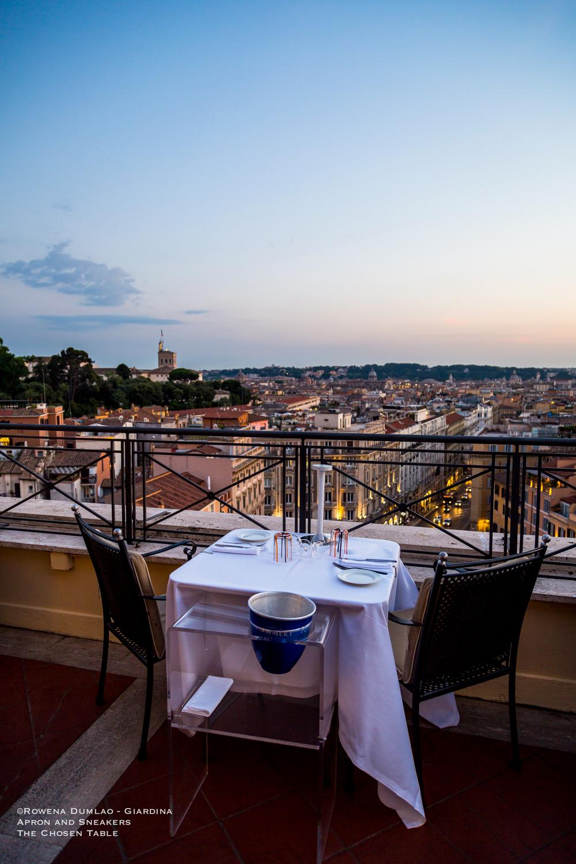 The Flair Rooftop Restaurant Of Hotel Sina Bernini Bristol