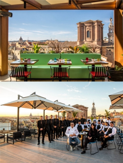 Dining On The Top Rome S Rooftop Terraces The Chosen Table