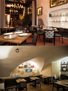 Photos from Restaurant Cru website