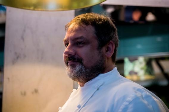 chef Giuseppe D'Alessio