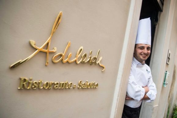 Roma Ristorante Adelaide dell'Hotel Vilon © Francesco Vignali Photography
