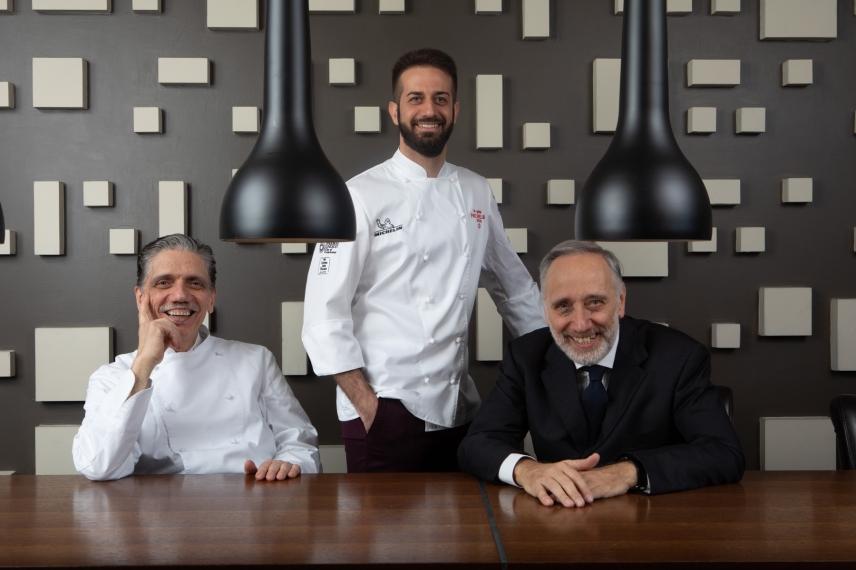 Franco Pierini, Andrea Pasqualucci and Gastone Pierini